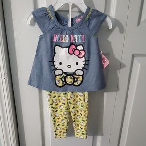 Hello Kitty Newborn Outfit